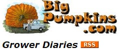 Growers Diary at Bigpumpkins.com