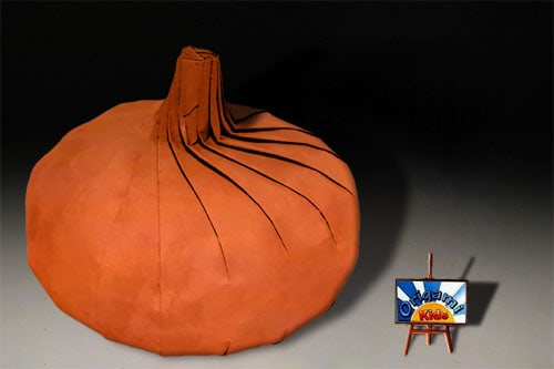 Monday Pumpkin Funday – Origami Pumpkin