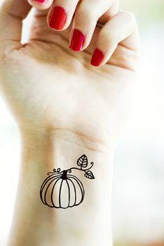 Pumpkin Tattoo10