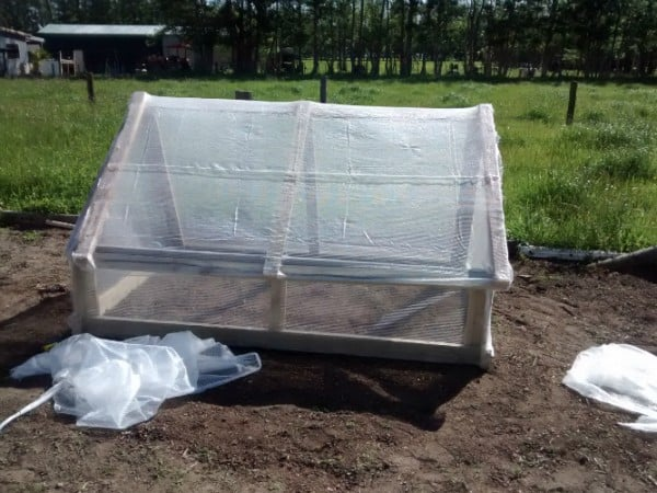 Grow frame all covered in Mikroclima