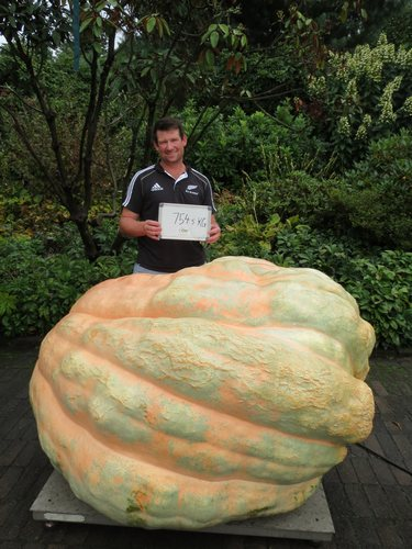 New New Zealand Record 754.5Kg's Tim Harris
