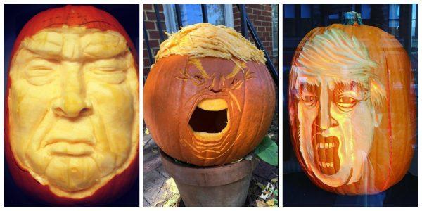 Trumpkin Pumpkin 3