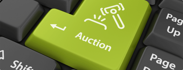 Auction Button on Keyboard