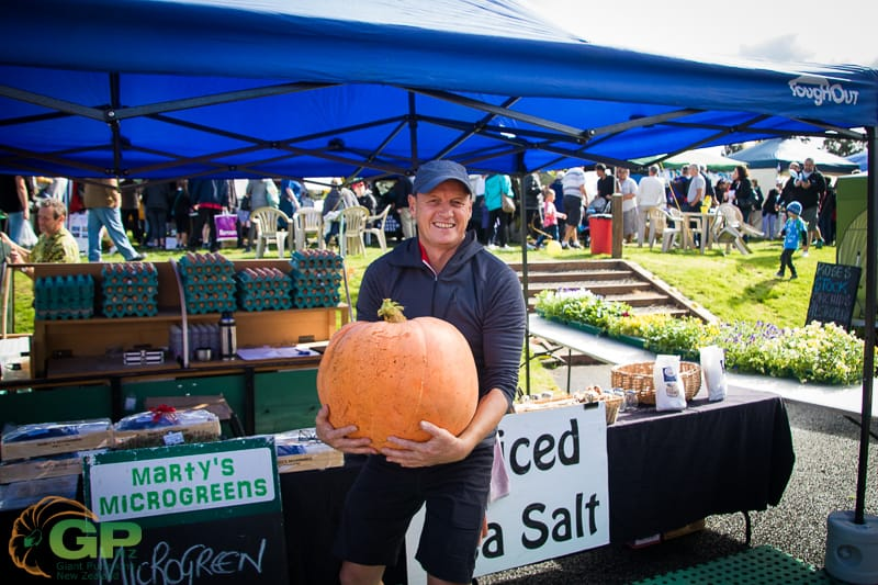Taupo Market Giant Pumpkin Competition