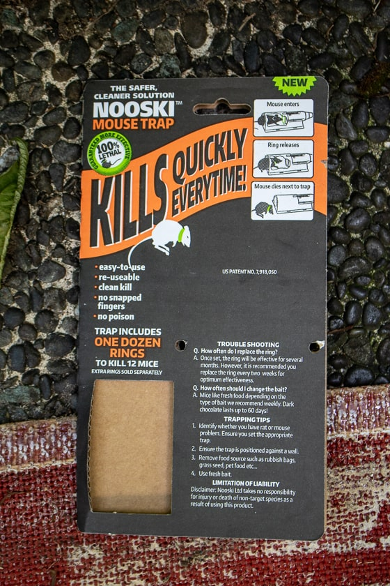 Nooski Mouse Trap Packaging