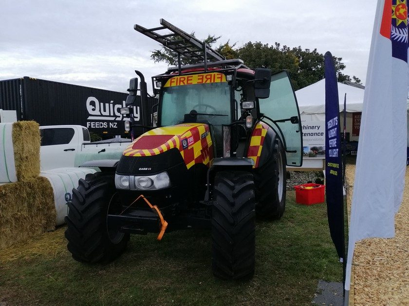 Fire Service Tractor