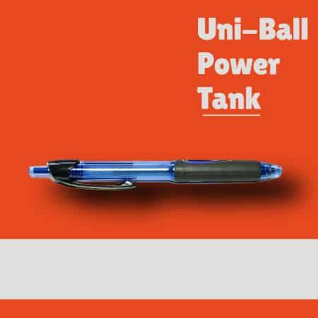 Uni Ball Power Tank Pen Updated
