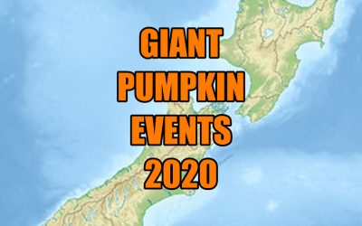 Giant Pumpkin Events 2020 – The List