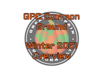 GPC Common Ground Winter 2021 Newsletter Overview